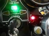 大阪T様CB400Fマッスル号ハンドルスイッチ接続チェック210721 (10)