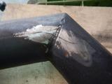 マフラークラック修理 (3)