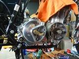 CB400国内398ccCP25号機エンジン搭載210607 (9)