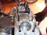 1号機エンジン分解&組立て (1)