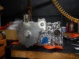 闇が消えたエンジン腰下完成 (2)