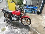 盆栽14号機洗車&タイヤリフレッシュ (1)
