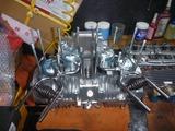 三代目号エンジン腰上組立て (3)
