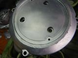 高知U号エンジンカバー類ブラスト塗装下地処理 (7)