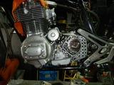 まっきーレーサー号エンジン仕上げ一日目180816 (1)