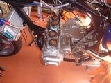 まっきーレーサー号本番前エンジンチェック (4)