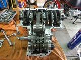 明石T号エンジン組立て腰下190816 (3)