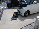 CP四輪カスタム担当車高調取付 (1)