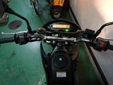 カワサキDトラ125ccシート交換210824 (5)