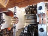 CB250Nエンジン組立て (1)