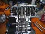 N様500ccエンジン腰下組立て