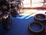サーキット用タイヤに交換