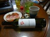 旧嫁と新嫁とカニ鍋&赤ワイン退治 (4)