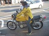 黄色い君慣らしへ出発 (2)