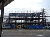 6月25日CP前空き地建設工事足場設置 (1)