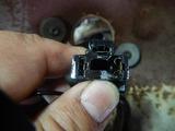 お弟子さんのDSヘッドライト修理 (2)