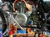 沖縄A様CB400エンジン仕上げL側210807