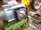M型モンキーエンジン組立て (10)