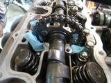 大阪T様CB400Fマッスル号オイル漏れ修理210719 (5)