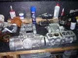 6号機用エンジン製作開始 (1)