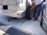 引張りタイヤ禁止