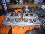 CPレーサーエンジン3腰上組立て (3)