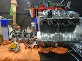 CB400国内398ccCP25号機組み立て作業四日目 (6)