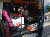 第十六回ヨンフォア旧車ミーティングinもちやの準備