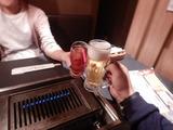 嫁とディナー (1)