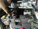 CBR400Fヘッドガスケットオイル漏れ修理