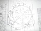 クラッチカバーの図面