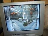 監視カメラ取付け (2)