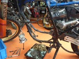 DR250Sエンジン交換 (1)