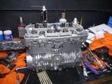 ベホリレーサーエンジン復旧作業 (9)