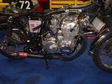 国内408カフェサイドスタンド修理エンジン搭載 (4)
