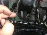 フロントブレーキオイル漏れ (2)