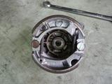 Z50Z前後タイヤホイール交換 (3)