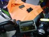ZRX400福井K号ブレーキパット交換 (2)