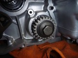 CPレーサーエンジン腰下組立て (3)