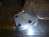 レーサー用フル強化オイルポンプアルマイト剥し (4)