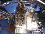 嵐のフォアエンジン腰上分解 (5)
