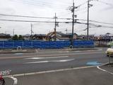 5月22日CP前空き地建設工事