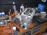 1号機内燃機加工から仕上がりからの組立て (5)