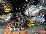 CB400F国内408ccCP20号機エンジン仕上げ二日目 (9)