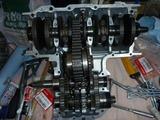 3号機エンジン組立て