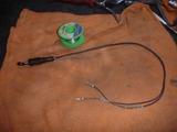 三代目号用リアブレーキ圧力スイッチ交換準備 (2)