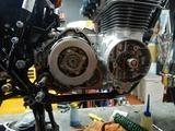 CB400F国内408ccCP20号機エンジン仕上げ二日目 (1)