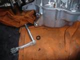 160311の残業レーサーエンジン分解洗浄 (6)
