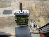 沖縄A様CB400シリンダーヘッドポート研磨仕上げ210710 (1)