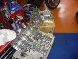 408エンジンブラスト依頼クランクケース終了